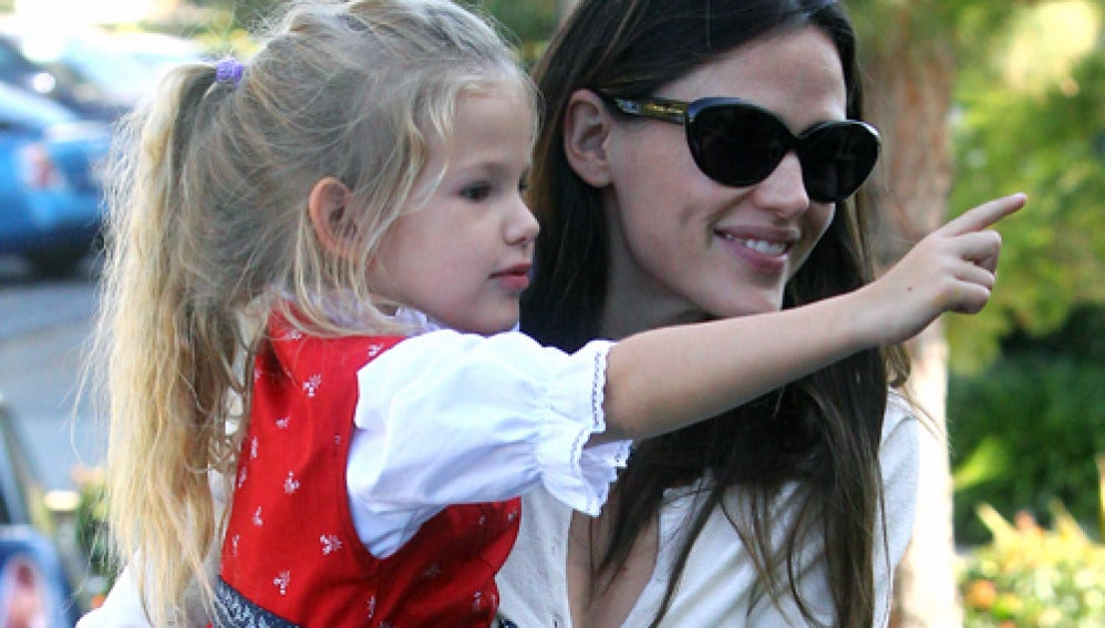 Jennifer Garner y su hija