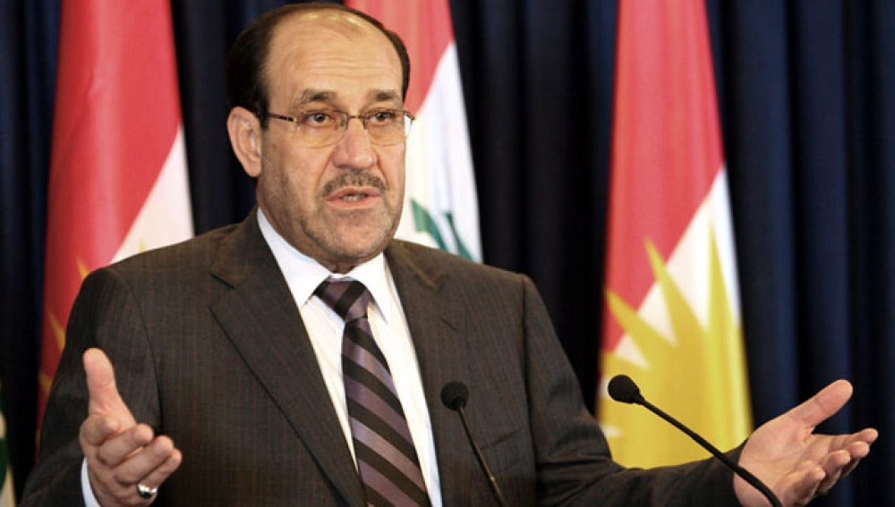El primer ministro iraquí, Nuri al Maliki