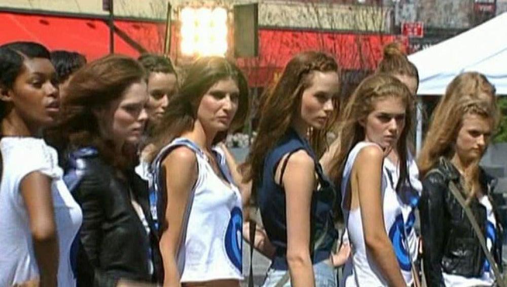 Supermodelos en Nueva York