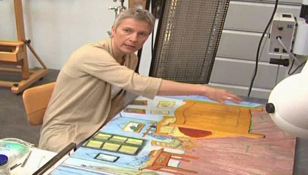 Restauran 'La habitación' de Van Gogh
