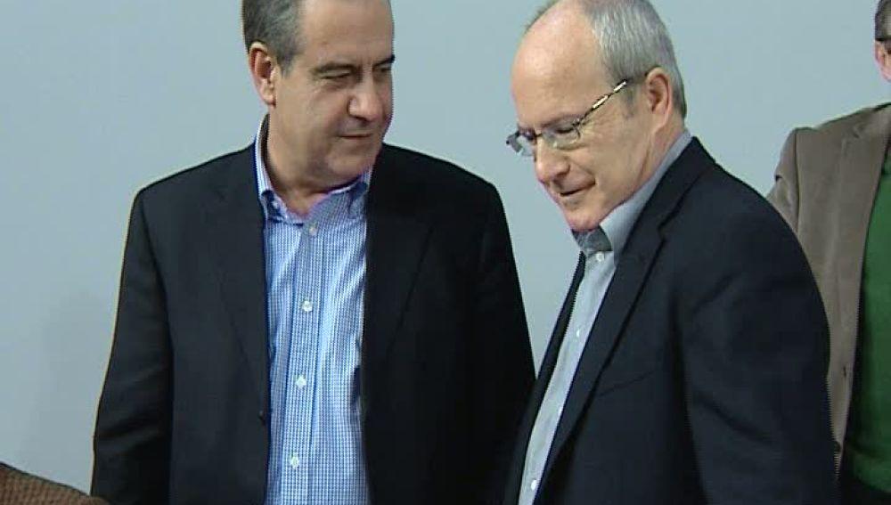 Celestino Corbacho  y José Montilla