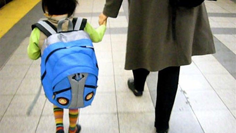 Problemas de espalda por la mochila