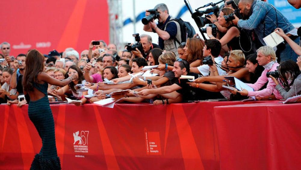 Naomi Campbell en Venecia