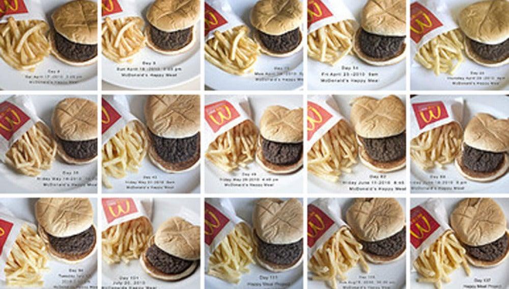 La hamburguesa indestructible
