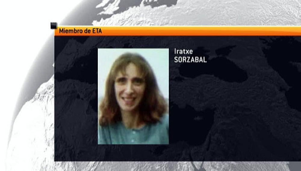 Iratxe Sorzabal, portavoz de ETA