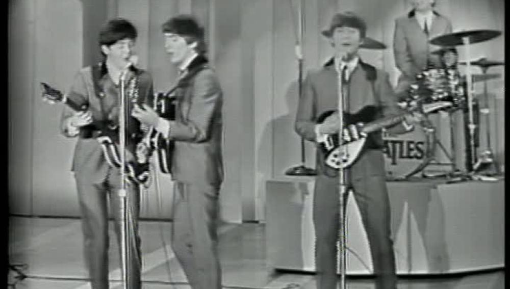 Los Beatles en el 'Show de Ed Sullivan'