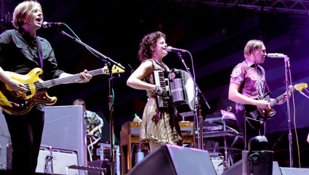 Arcade Fire en el MTV Winter