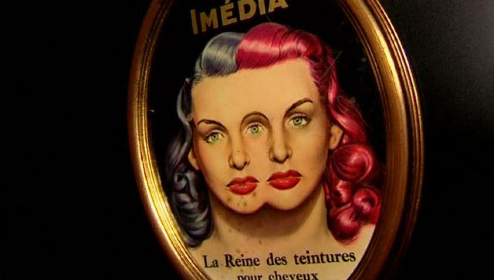 Cartel de la exposición de peluquería
