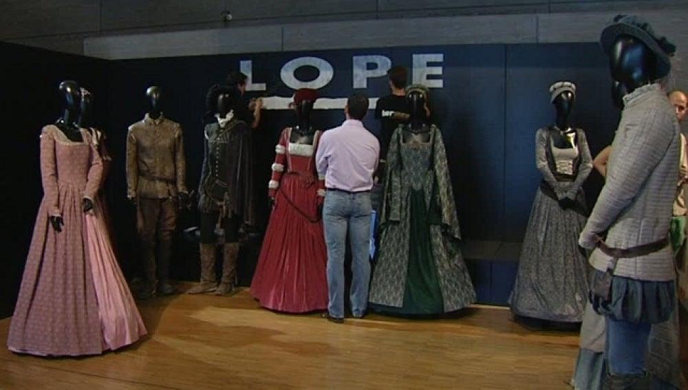 El vestuario de 'Lope' en el museo del traje