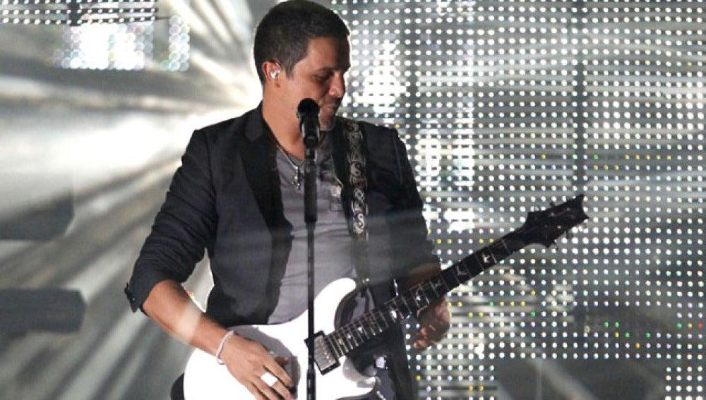 Alejandro Sanz llena su concierto en Madrid