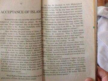Un ejemplar del Corán