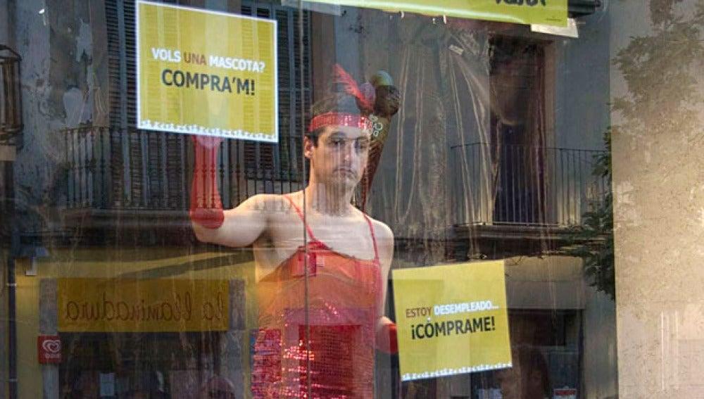 Uno de los actores de la Feria de Tárrega