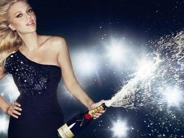 Scarlett Johansson para Moët Chandon
