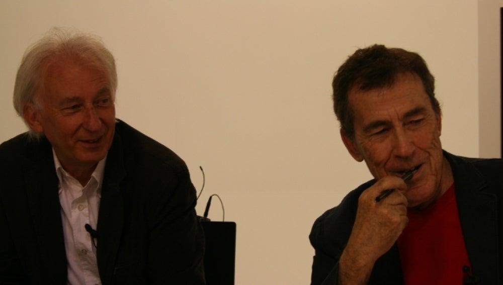 Albert Boadella y Fernando Sánchez Dragó