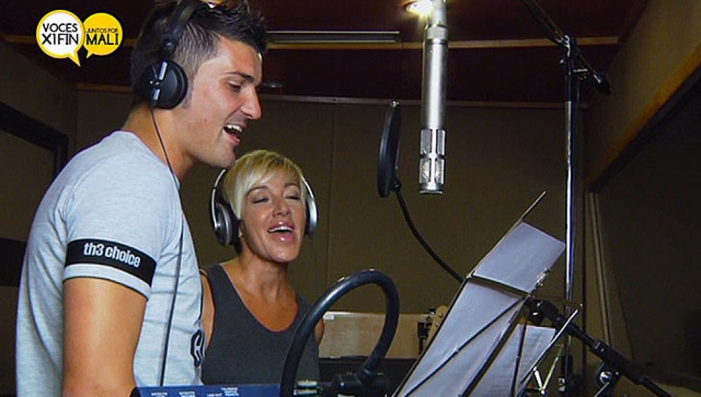David y Ana Torroja cantan juntos