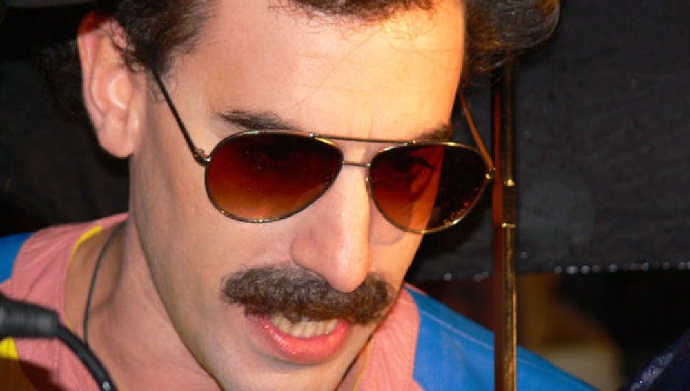 Sacha Baron Cohen en Borat