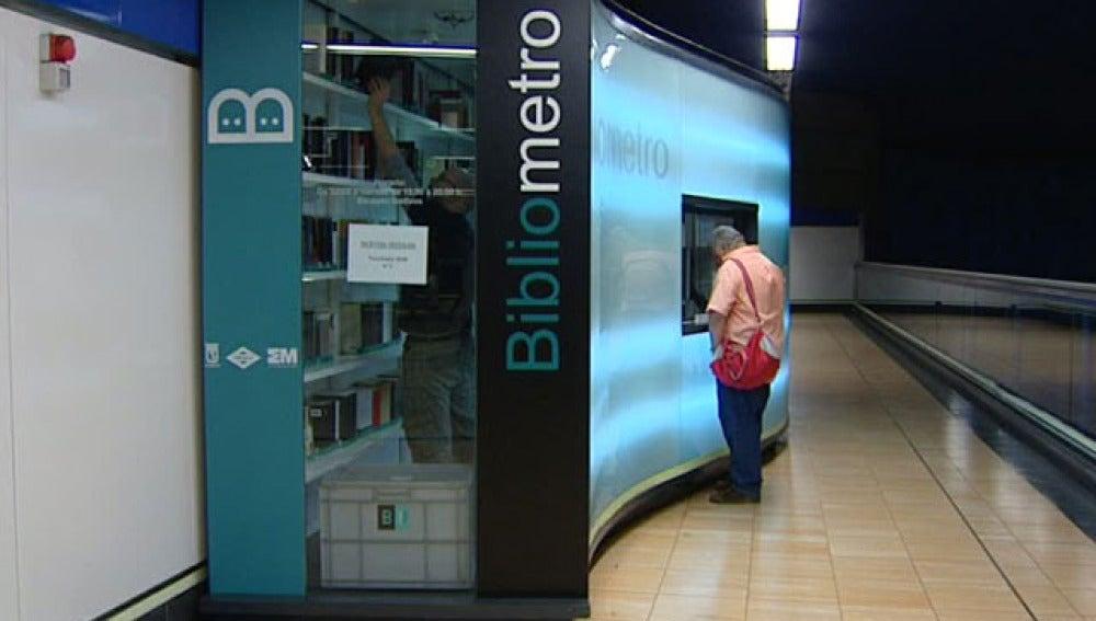 Bibliometro Madrid