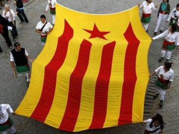 Bandera catalana 'Estelada'