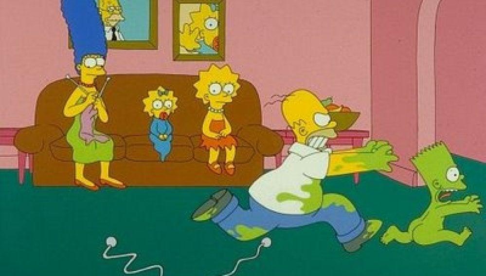 Los Simpson, capítulo 2