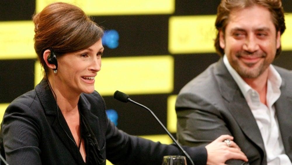 Julia Roberts y Javier Bardem