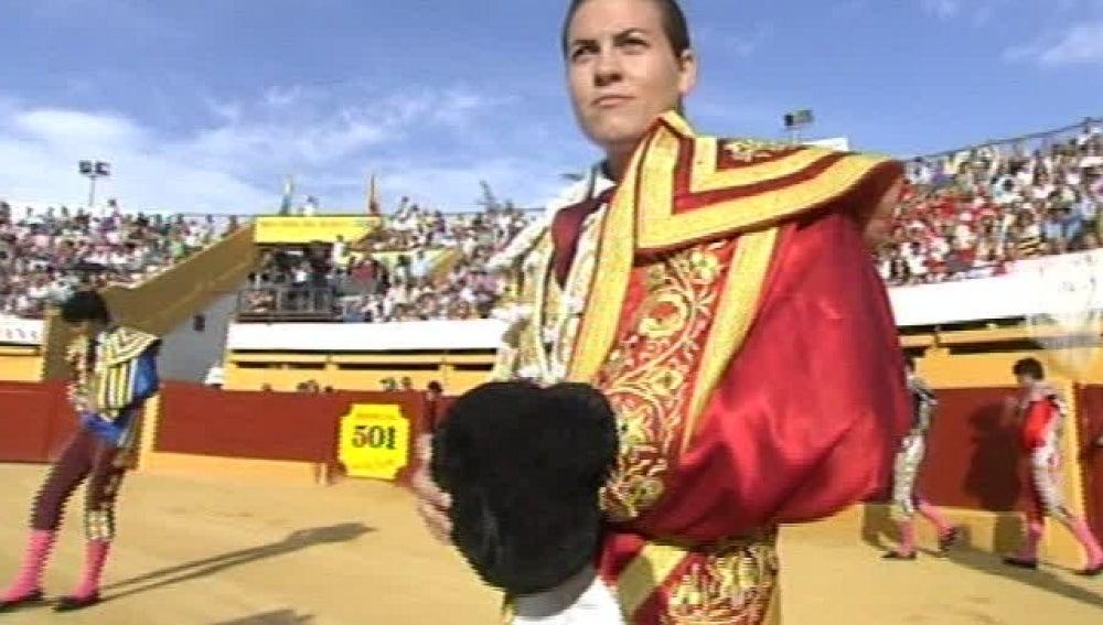 La torera Sandra Moscoso