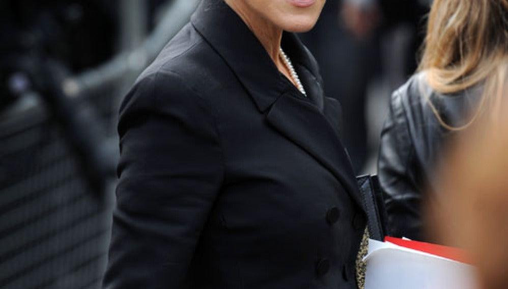 Sarah Jessica Parker en el homenaje a Mc Queen