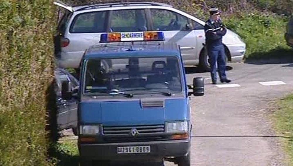 Coches de policía franceses