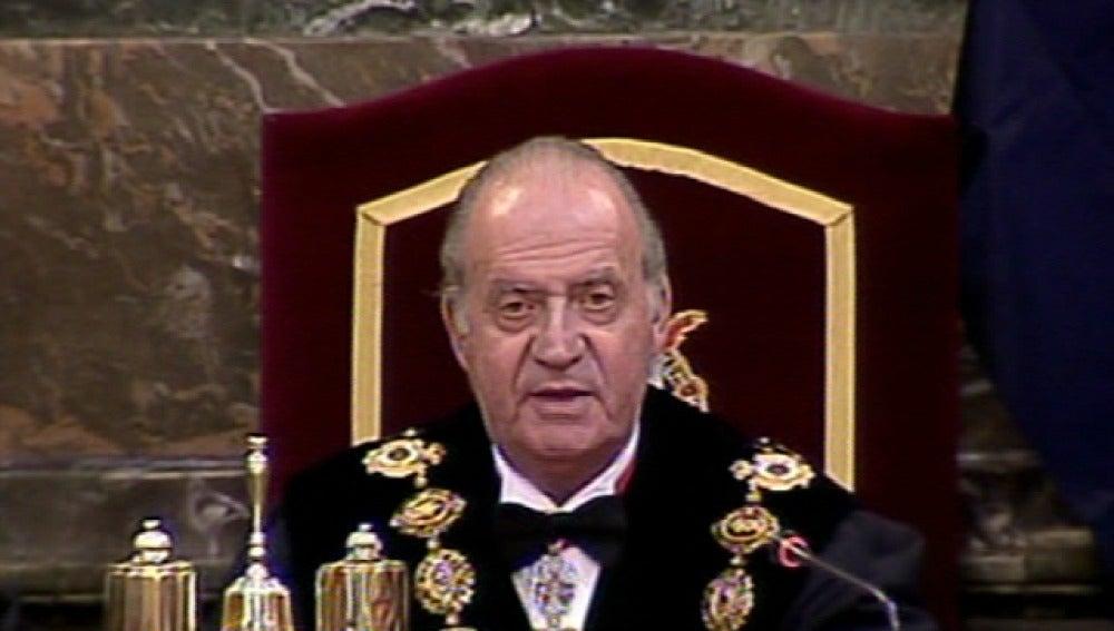 El Rey inaugura el año fiscal