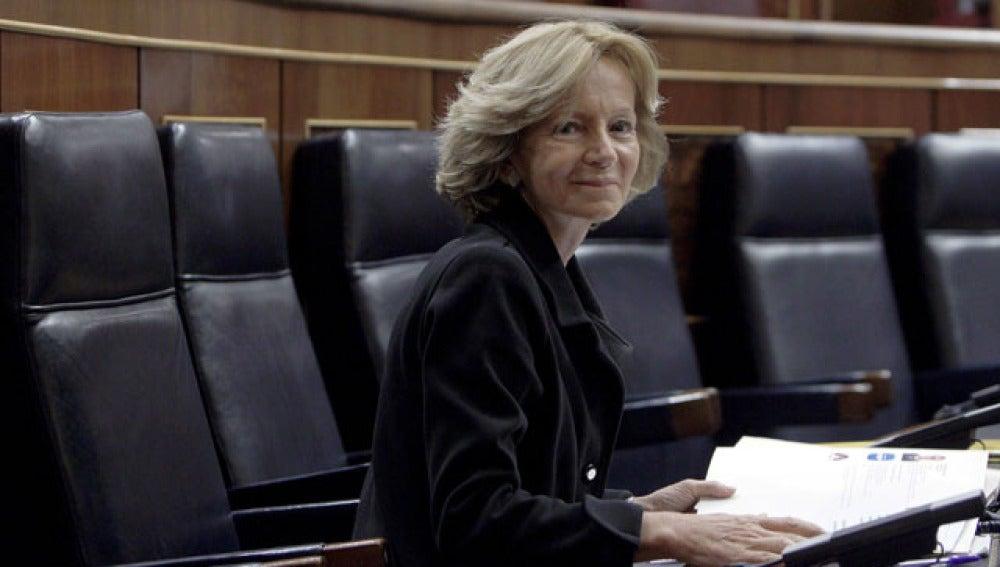 Elena Salgado, ministra de Economia