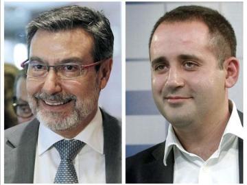 Los socialistas Antoni Asunción y Jorge Alarte