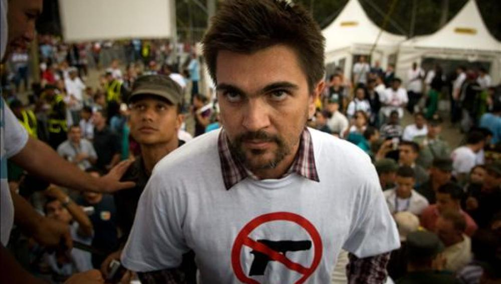 Juanes en un concierto solidario