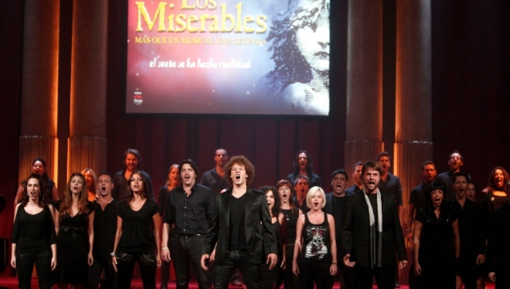 "Estrenan el musical de ""Los Miserables"""