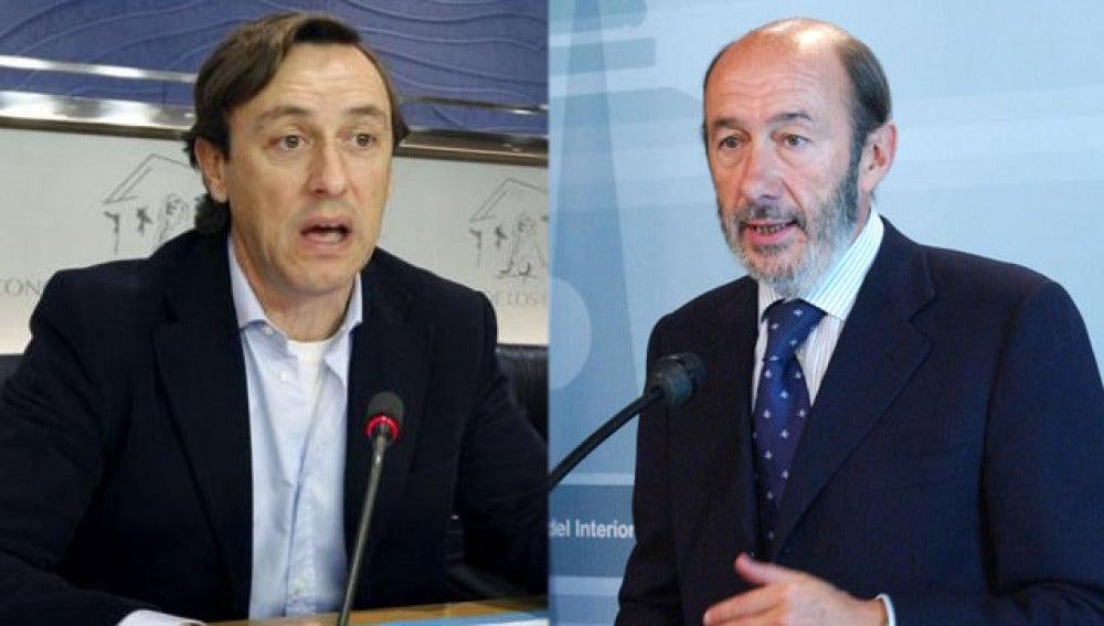 Rafael Hernando vs. Alfredo Pérez Rubalcaba