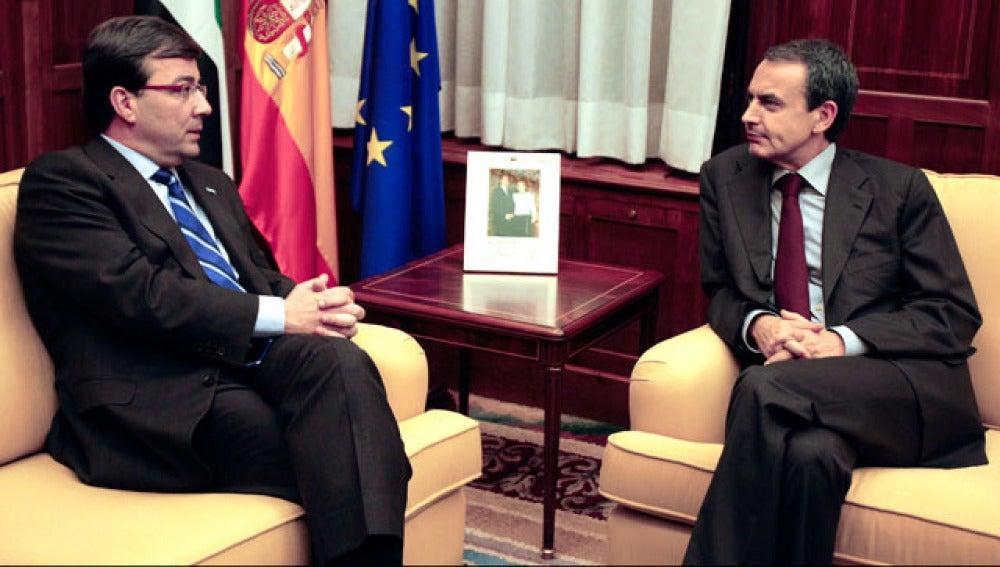 Fernández Vara y Zapatero