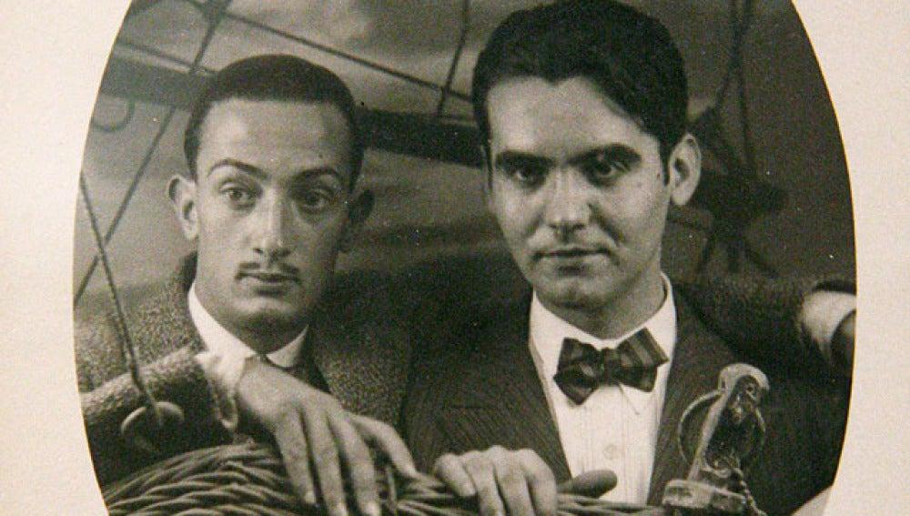 Foto de Dalí y Lorca de la exposición