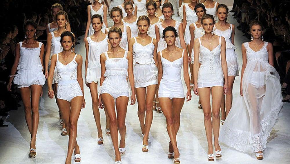 Blanco para la mujer mediterránea de D&G