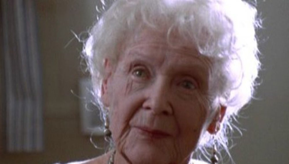 La anciana de Titanic, Gloria Stuart
