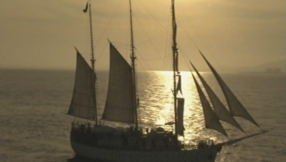Las primeras imágenes de El Barco
