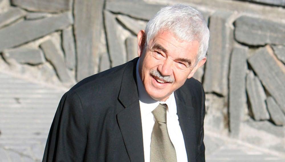Gaspar Maragall durante la presentación del documental en San Sebastián