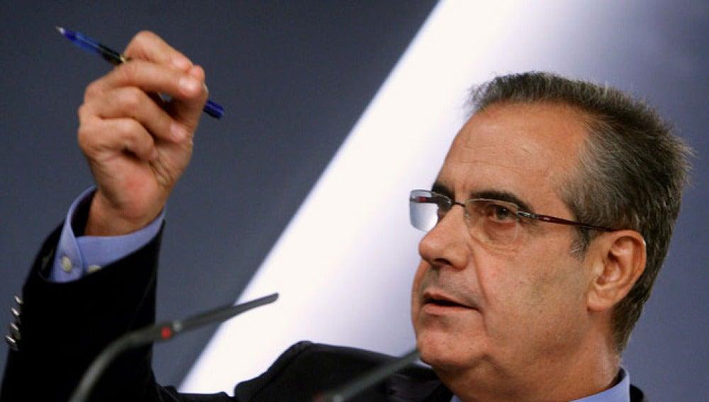 Celestino Corbacho, ministro de Trabajo
