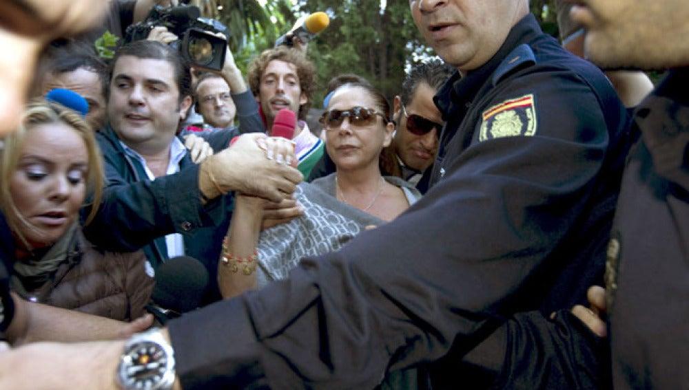 Isabel Pantoja llega al juzgado
