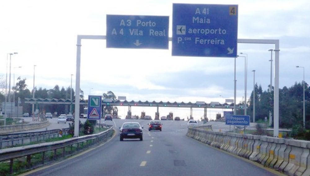 Una autopista de Portugal