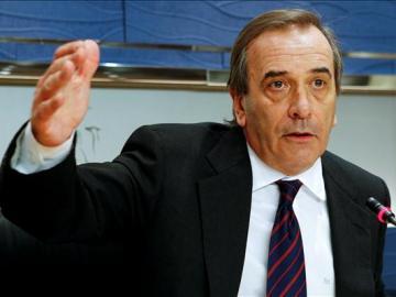 José Antonio Alonso, portavoz del PSOE en el Congreso
