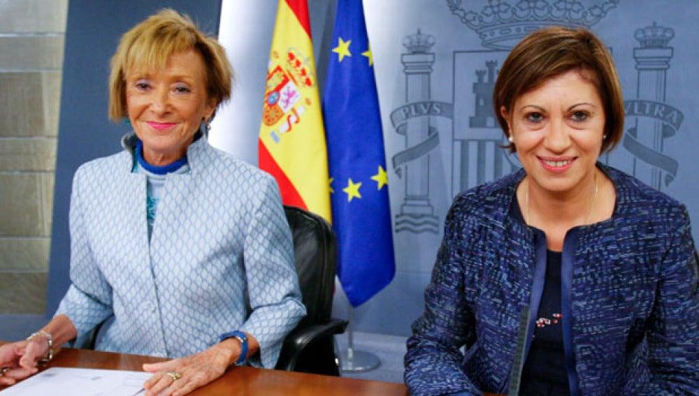 De la Vega y Espinosa en la rueda de prensa