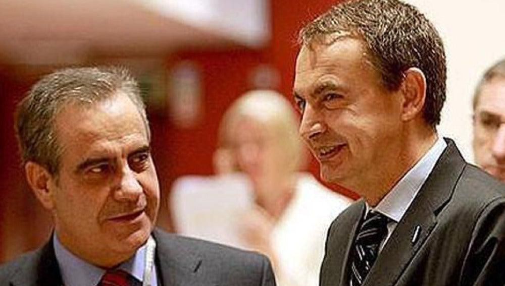 Zapatero y Corbacho
