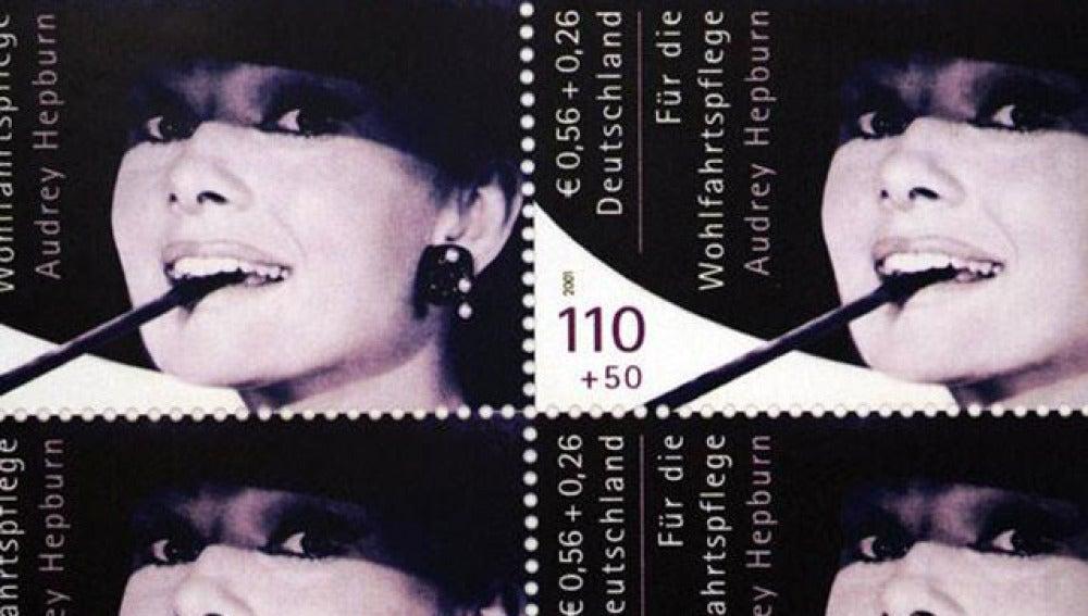 Sellos de Audrey Hepburn