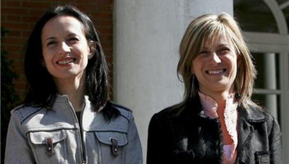Beatriz Corredor y Bibiana Aido