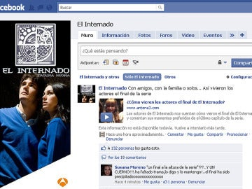 El Internado en facebook