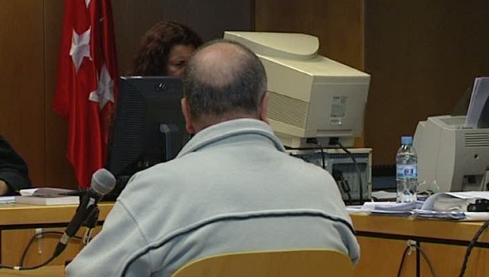 Un acusado declara en el juicio
