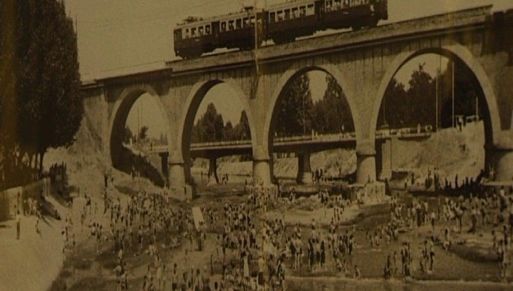Rio Manzanares en 1934
